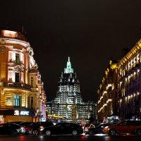 Москва в свете вечерних огней :: Михаил Малец