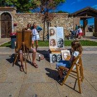 Ты рисуй, рисуй меня, художник... :: Виктор Льготин