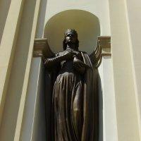 Скульптура   княгини   Ольги   в   Ивано - Франковске :: Андрей  Васильевич Коляскин