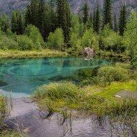 Гейзерное озеро :: Андрей Поляков