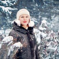 И падал первый снег :: Наталья Мячикова