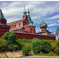 Старола́дожский Нико́льский монастырь :: Рамиль Хамзин