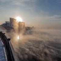 Ангара закатная... :: Александр   Матвей БЕЛЫЙ