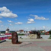 На этом месте в 1604 году был основан город Томск! :: Милешкин Владимир Алексеевич