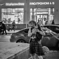 Зимний волынщик :: Сергей Басов
