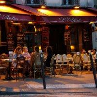 Париж.... вечер... :: Алёна Савина