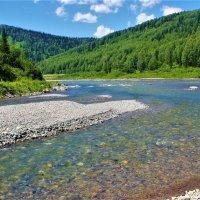 Малая речка прибежала к большой :: Сергей Чиняев