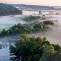 Утро на реке Корень :: ALEXANDR L