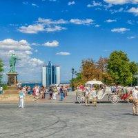 Что-то, лето вспомнилось, - Август на Приморском бульваре. :: Вахтанг Хантадзе