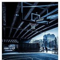 баскетбольная площадка в Калинграде :: Юлия Морец