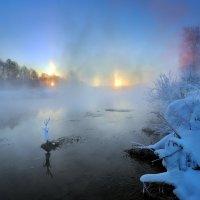 Морозный рассвет ...6. :: Андрей Войцехов