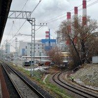 """Вид со станции """"Зорге"""" МЦК :: Денис Масленников"""
