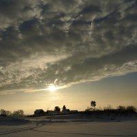 зимний  рассвет :: Владимир Коваленко