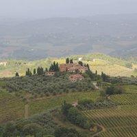 Тосканский пейзаж :: svetlana.voskresenskaia