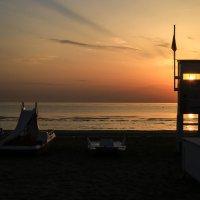 пляж Римини :: Сергей Кудряшов