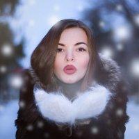 Snow girl :: Александра Захарова (Борщева)