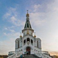 Утро храма :: Владимир Самсонов