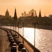 Закатная Москва :: Ольга Троянова