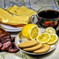 Утром мажу бутерброд, а все мысли - как народ?:) :: Андрей Заломленков