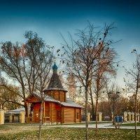 Питер Октябрьская набережная Троицкая церковь :: Юрий Плеханов