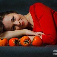 Хурма :: Любовь Нефёдова