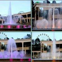 Светомузыкальный фонтан в Кисловодске :: Нина Бутко