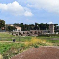 Италия.Рим.Большой цирк в Риме - самый обширный античный ипподром :: Galina Leskova