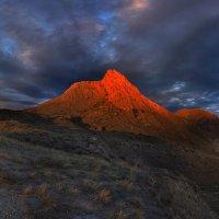 закатный свет разлился по холмам :: viton