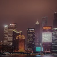 Туманный Шанхай...Китай! :: Александр Вивчарик