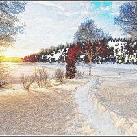 Дорога в зиму :: Лидия (naum.lidiya)