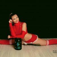 Снегурочка со спортивным угощением :: Albina