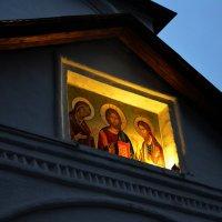 Вечер в Сретенском монастыре. :: Oleg4618 Шутченко