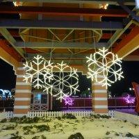 Кремлевская набережная перед Новым годом :: Наиля