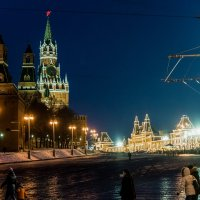 Ночная Москва. :: Владимир Безбородов