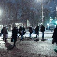 Ночь улица фонарь :: Александрр Petrov