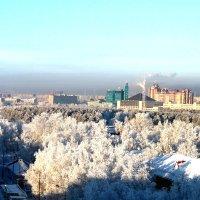 Город в снежном наряде :: Алла ZALLA
