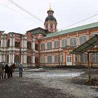 Александро - Невская лавра ( фрагмент ). :: Марина Харченкова