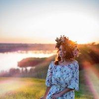 Летний вечер :: Ксения Заводчикова