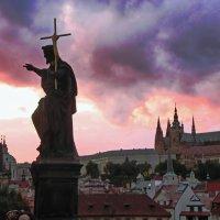 Закат над Прагой :: Андрей K.