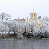 На зимнем берегу :: Сергей Тарабара