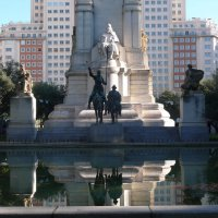 Мадрид.Монумент Сервантесу. :: Таэлюр