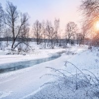 Замерзшая река :: Юлия Батурина