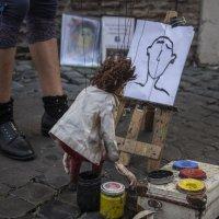 Кукла художник :: Анна Меркулова