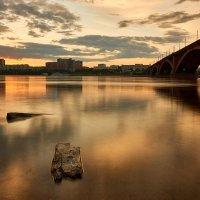 Коммунальный мост через Енисей :: Aleks 9999