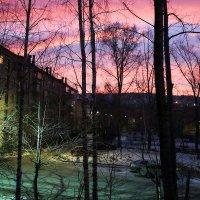 Рассвет в городе. :: Александр Шимохин