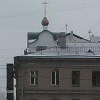 Купол староверческой церкви. (Санкт-Петербург, декабрь). :: Светлана Калмыкова