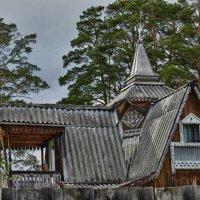 Дом-сад..... :: Светлана Игнатьева