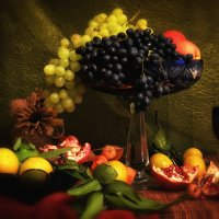 Натюрморт с фруктами :: Клавдия Андреева