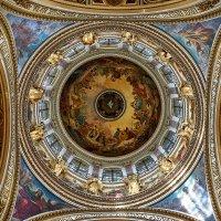 Купол Исакиевского собора изнутри :: Aleks 9999
