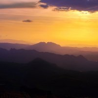 Закат над Апениннами :: M Marikfoto